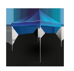 Раздвижной шатер 2х2