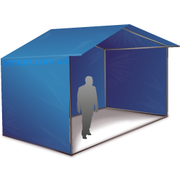 Торговая палатка 3х2