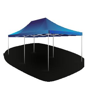 Раздвижной шатер 3х6